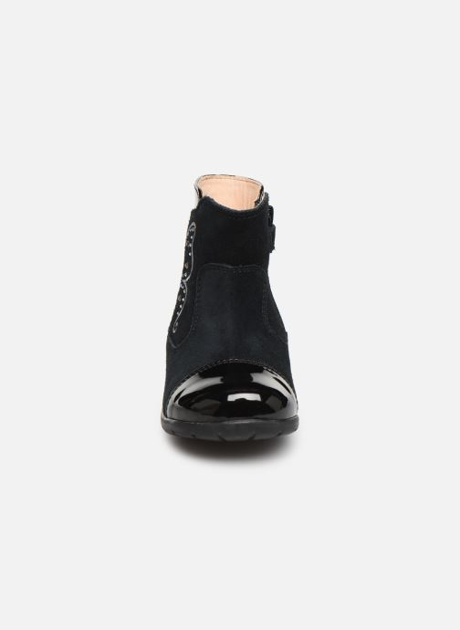 Bottes Geox B Kaytan B9451C Noir vue portées chaussures