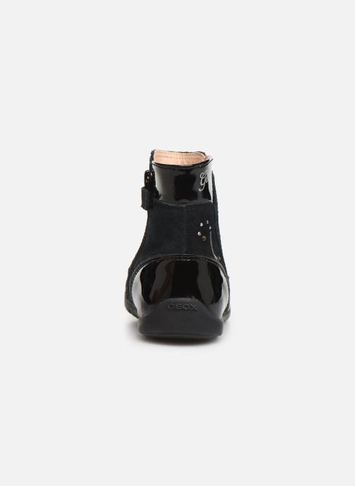 Laarzen Geox B Kaytan B9451C Zwart rechts