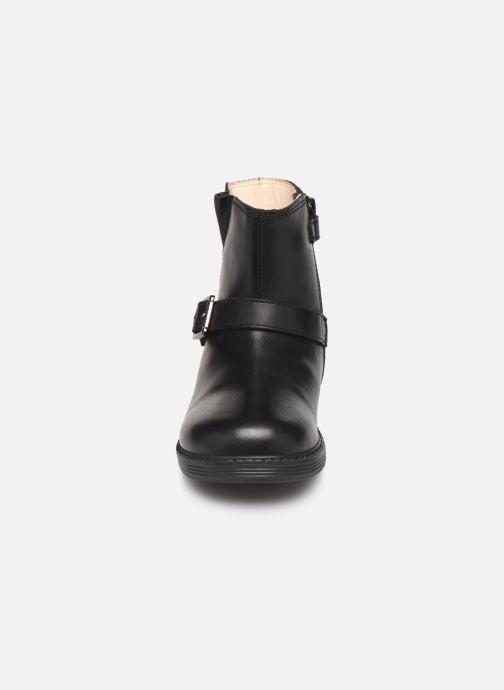 Bottes Geox B Hynde Girl Wpf B943MA Noir vue portées chaussures