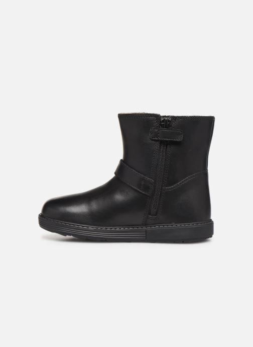 Laarzen Geox B Hynde Girl Wpf B943MA Zwart voorkant
