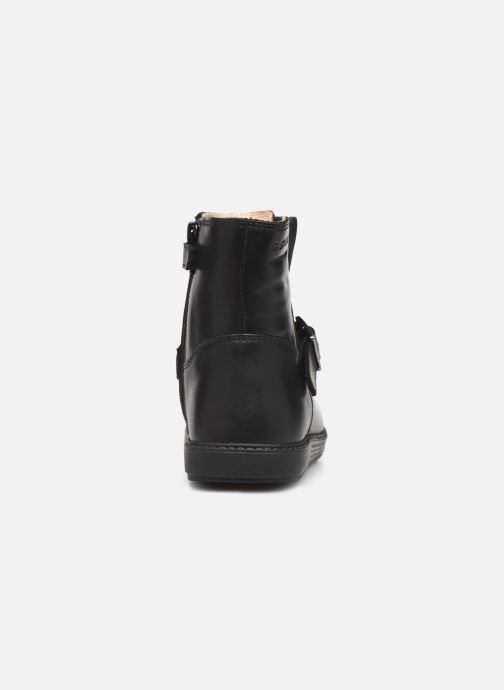 Stiefel Geox B Hynde Girl Wpf B943MA schwarz ansicht von rechts