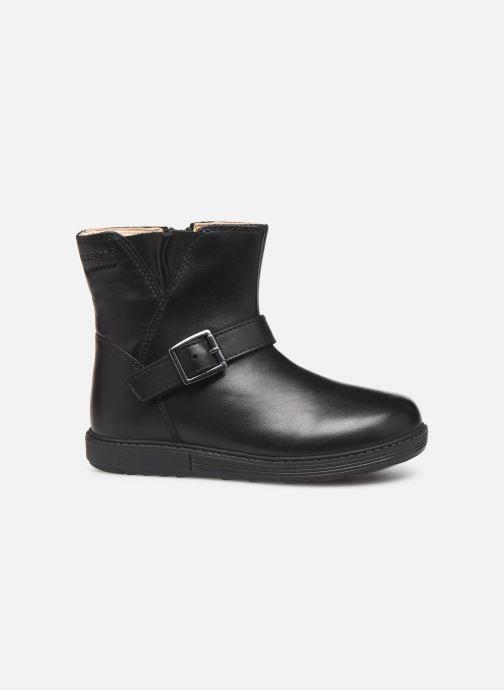 Laarzen Geox B Hynde Girl Wpf B943MA Zwart achterkant