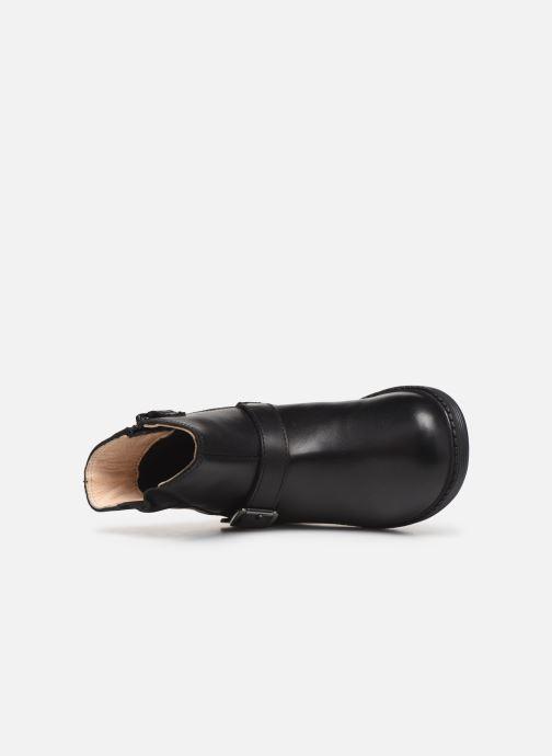 Stiefel Geox B Hynde Girl Wpf B943MA schwarz ansicht von links