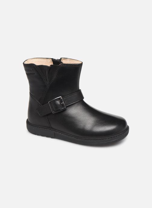 Støvler & gummistøvler Geox B Hynde Girl Wpf B943MA Sort detaljeret billede af skoene