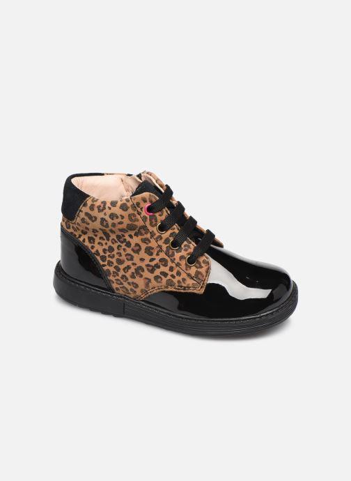 Boots en enkellaarsjes Geox B Hynde Girl B942FA Blauw detail
