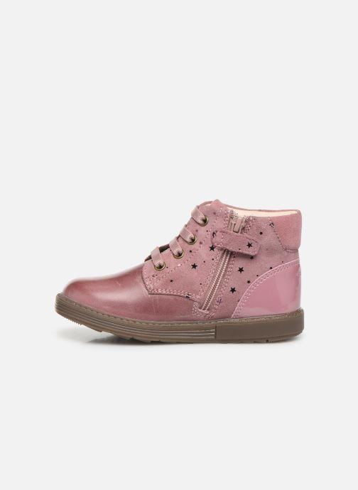 Boots en enkellaarsjes Geox B Hynde Girl B942FA Roze voorkant