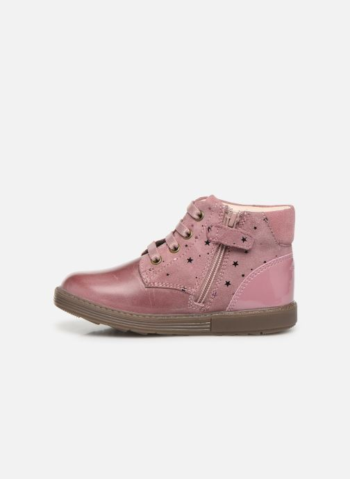 Bottines et boots Geox B Hynde Girl B942FA Rose vue face
