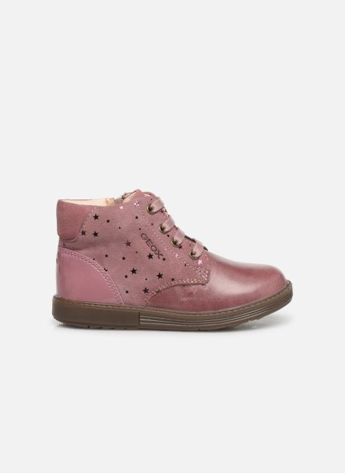 Bottines et boots Geox B Hynde Girl B942FA Rose vue derrière