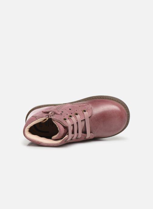 Boots en enkellaarsjes Geox B Hynde Girl B942FA Roze links