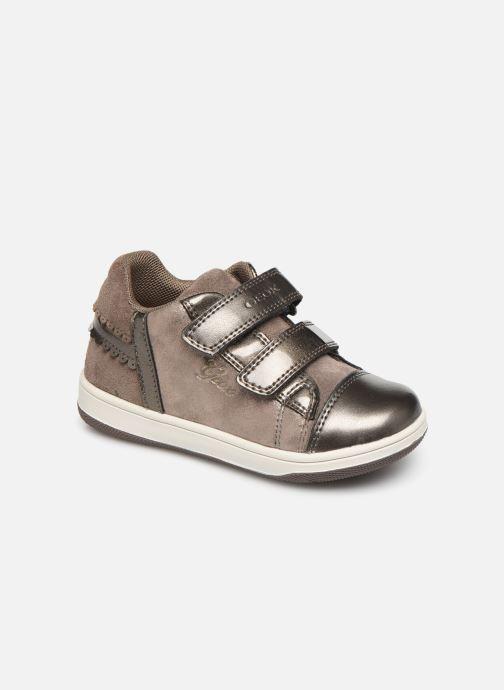 Sneakers Geox B New Flick Girl B941HA Bruin detail