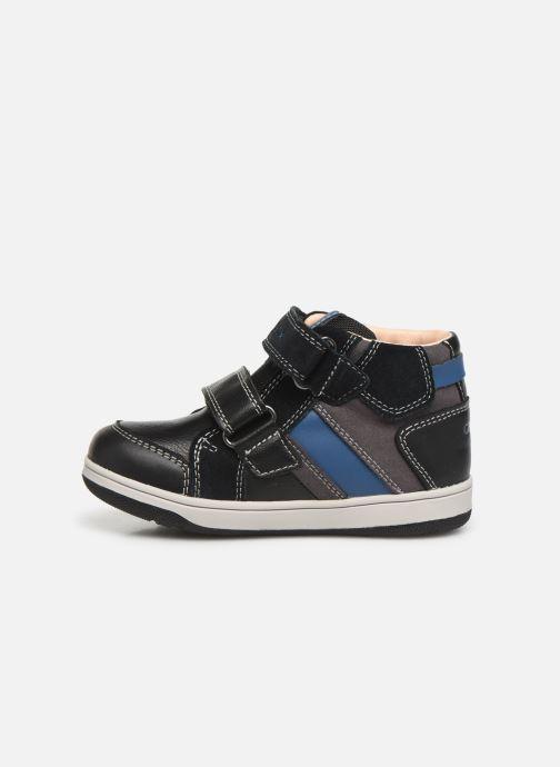 Sneakers Geox B New Flick Boy B941LC Zwart voorkant