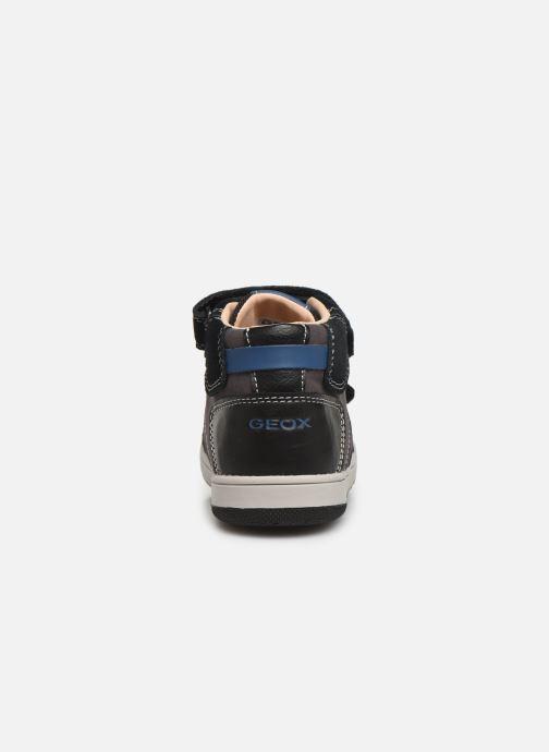 Sneakers Geox B New Flick Boy B941LC Zwart rechts