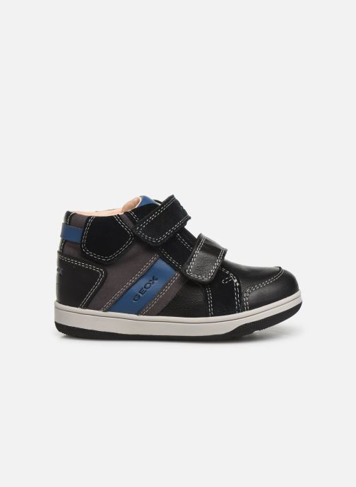 Sneakers Geox B New Flick Boy B941LC Zwart achterkant