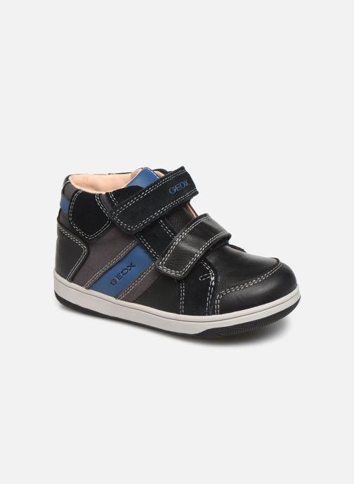 Sneakers Geox B New Flick Boy B941LC Zwart detail