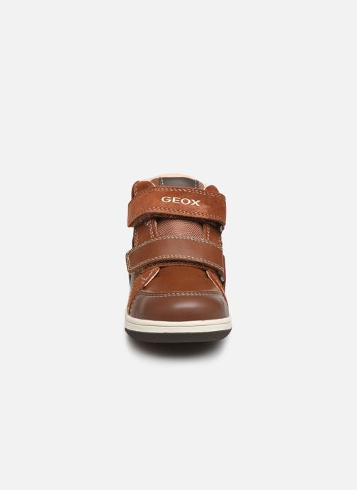 Trainers Geox B New Flick Boy B941LC Brown model view