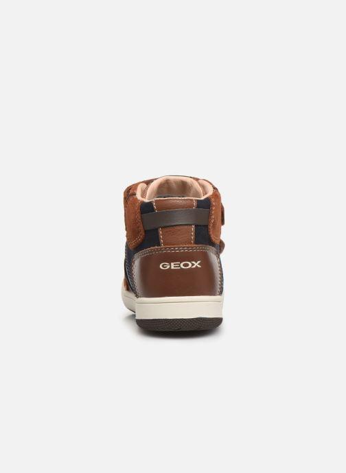 Sneakers Geox B New Flick Boy B941LC Bruin rechts