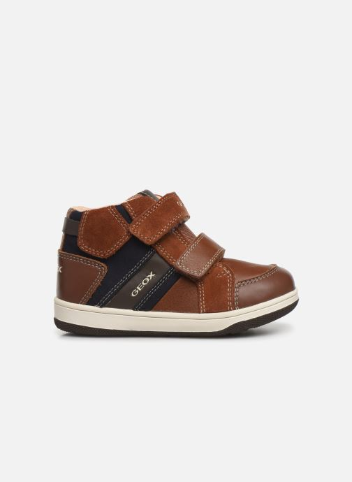 Trainers Geox B New Flick Boy B941LC Brown back view