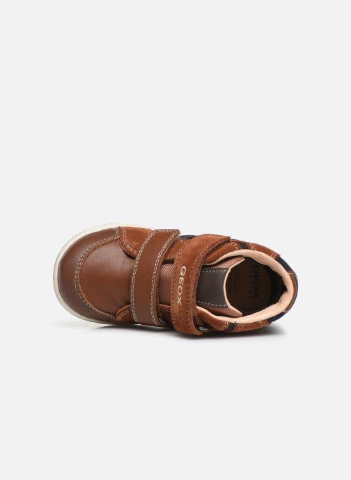 Sneakers Geox B New Flick Boy B941LC Bruin links
