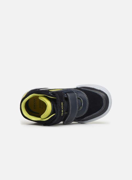 Sneakers Geox B Kilwi Boy B94A7A Azzurro immagine sinistra