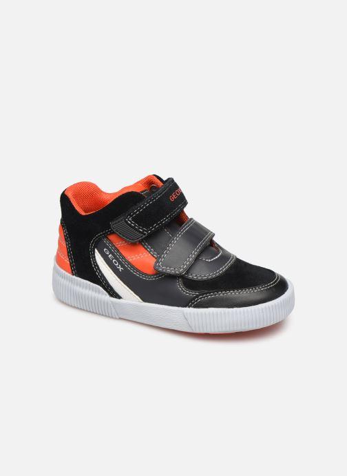 Sneakers Geox B Kilwi Boy B94A7A Zwart detail