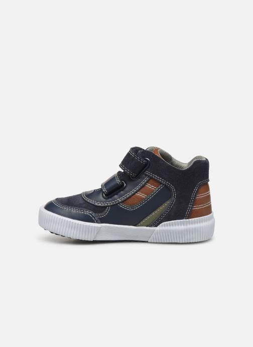Sneakers Geox B Kilwi Boy B94A7A Blå bild från framsidan