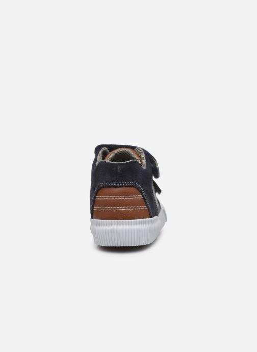 Sneakers Geox B Kilwi Boy B94A7A Blå Bild från höger sidan