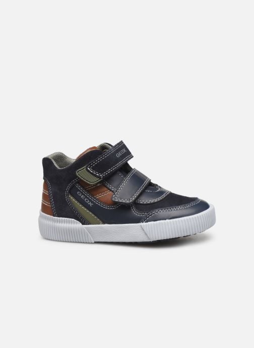 Sneakers Geox B Kilwi Boy B94A7A Blå bild från baksidan