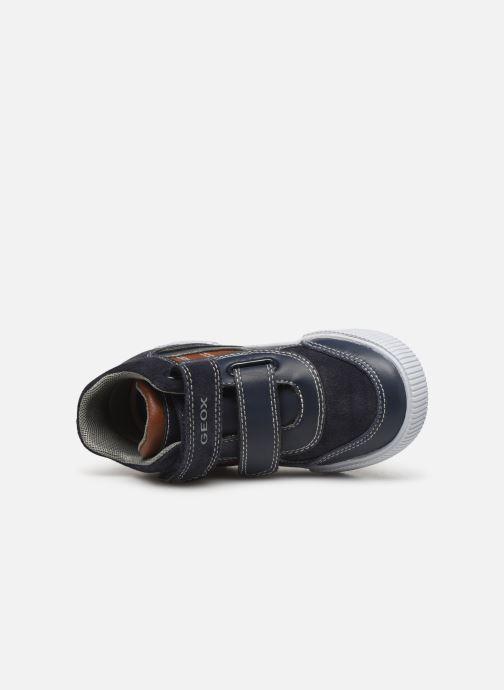 Sneakers Geox B Kilwi Boy B94A7A Blå bild från vänster sidan