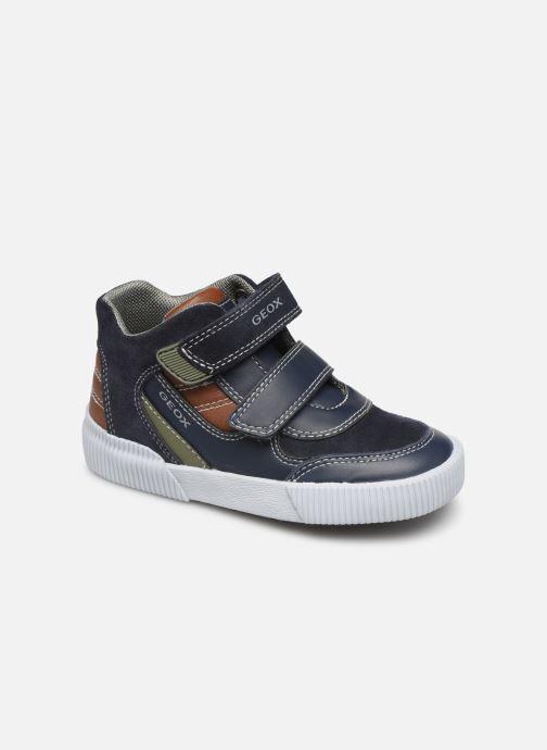 Sneakers Geox B Kilwi Boy B94A7A Blå detaljerad bild på paret