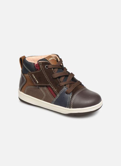 Sneaker Geox B New Flick Boy B941LA braun detaillierte ansicht/modell