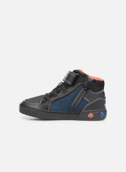 Sneakers Geox B Kilwi Boy B94A7D Grijs voorkant
