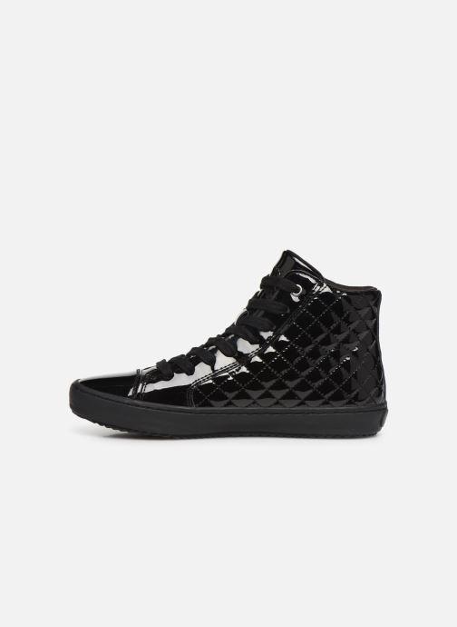Sneakers Geox J Kalispera Girl J944GD Zwart voorkant