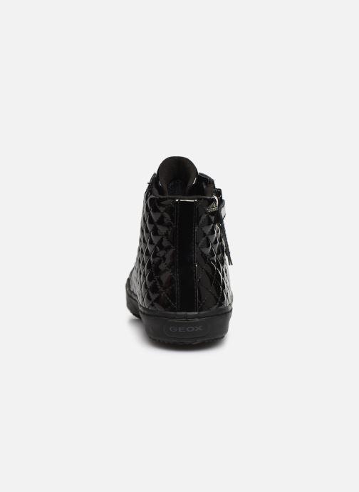 Sneakers Geox J Kalispera Girl J944GD Zwart rechts