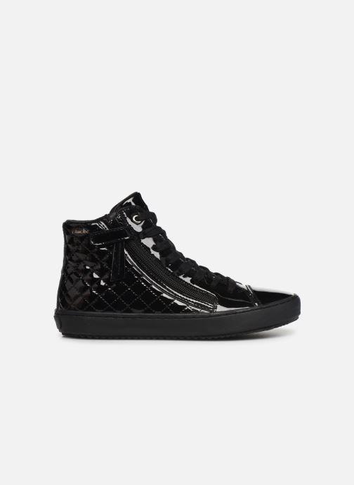 Sneakers Geox J Kalispera Girl J944GD Zwart achterkant