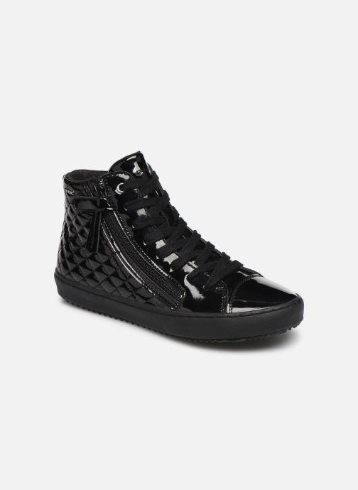 Sneakers Geox J Kalispera Girl J944GD Zwart detail