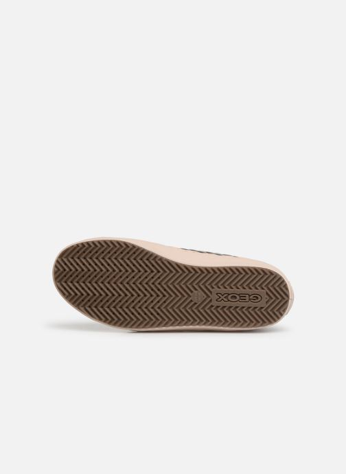 Sneakers Geox J Kalispera Girl J944GD Goud en brons boven