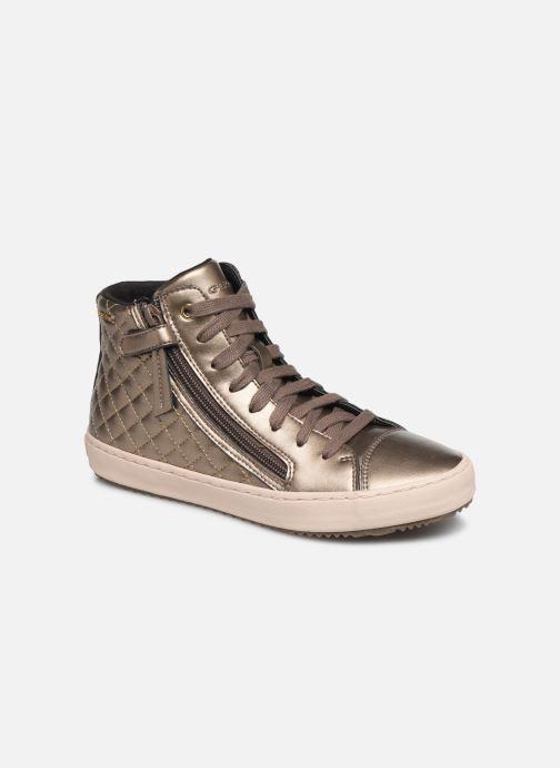 Sneakers Geox J Kalispera Girl J944GD Goud en brons detail