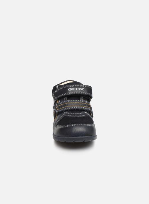 Bottines et boots Geox B Kaytan B9450B Bleu vue portées chaussures