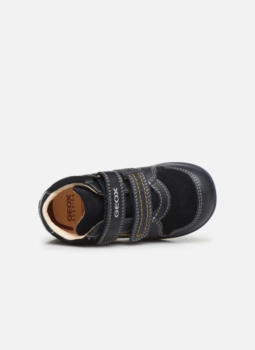 Bottines et boots Geox B Kaytan B9450B Bleu vue gauche