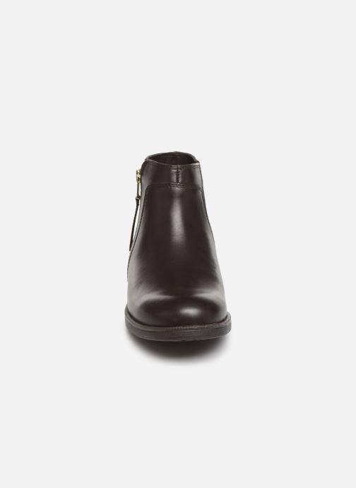 Boots en enkellaarsjes Geox JR Agata J9449C Bruin model