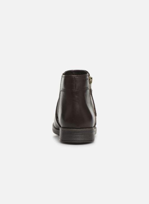 Boots en enkellaarsjes Geox JR Agata J9449C Bruin rechts