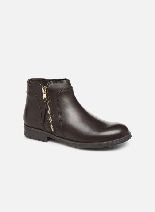 Boots en enkellaarsjes Geox JR Agata J9449C Bruin detail