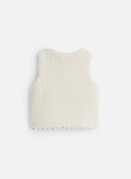 Vêtements Bonheur du Jour Sherpa Blanc vue bas / vue portée sac