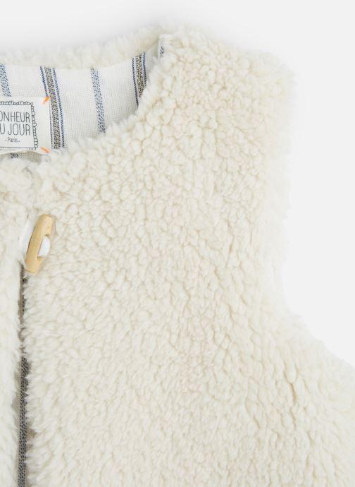 Vêtements Bonheur du Jour Sherpa Blanc vue portées chaussures