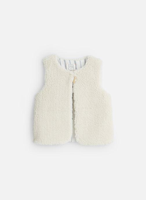 Vêtements Bonheur du Jour Sherpa Blanc vue détail/paire