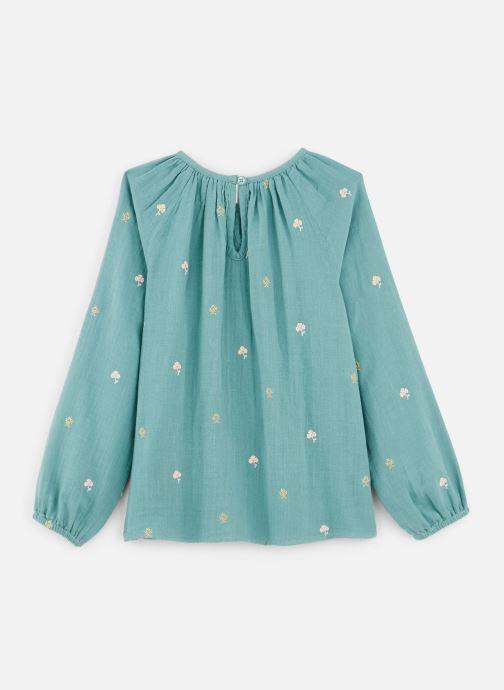 Vêtements Bonheur du Jour Pompon Blouse Bleu vue bas / vue portée sac