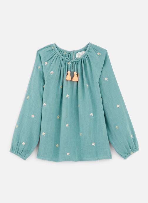Vêtements Bonheur du Jour Pompon Blouse Bleu vue détail/paire