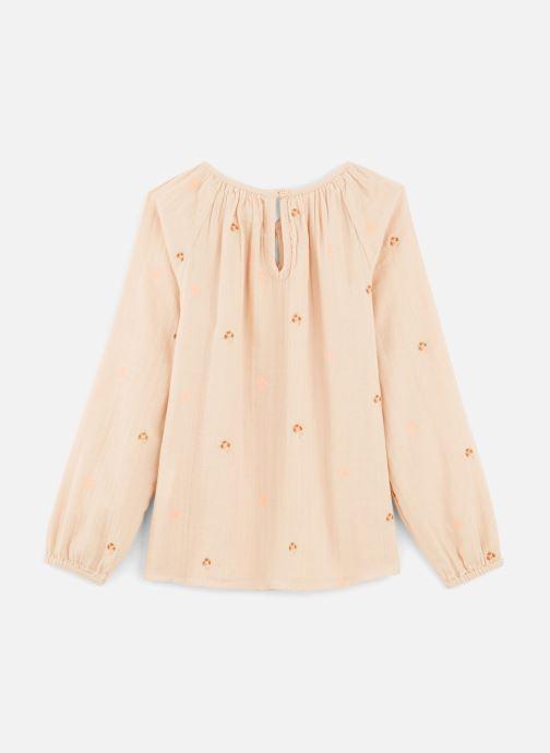Vêtements Bonheur du Jour Pompon Blouse Rose vue bas / vue portée sac