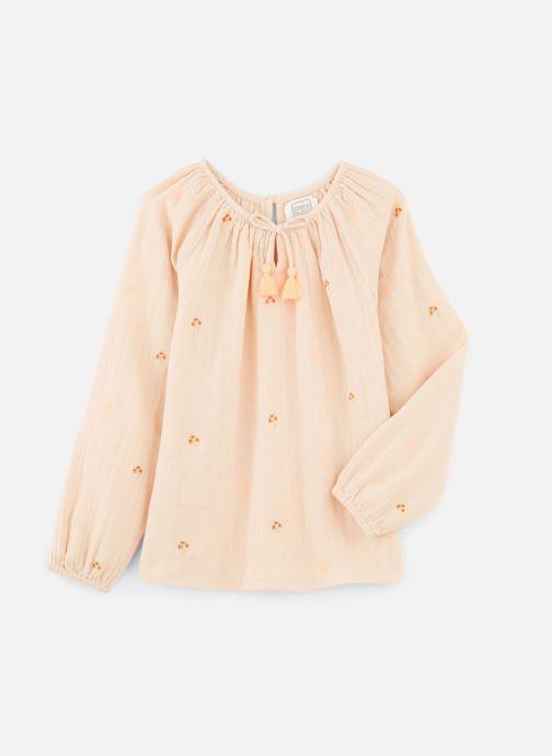 Vêtements Bonheur du Jour Pompon Blouse Rose vue détail/paire