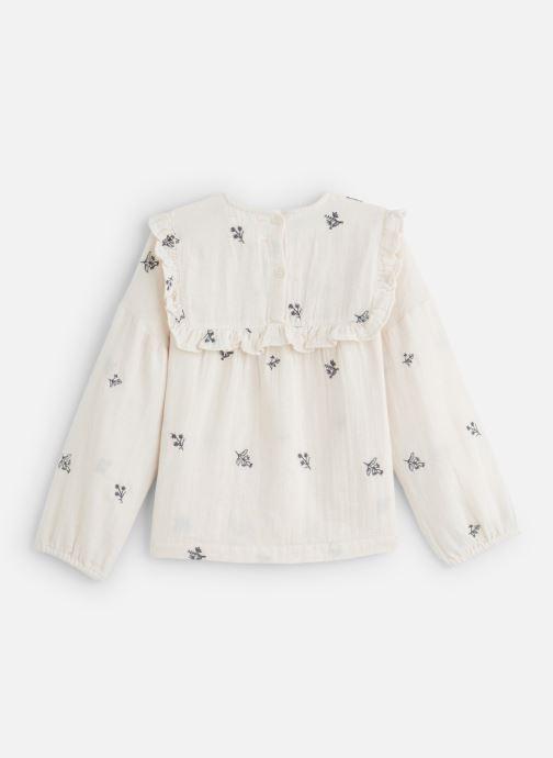 Vêtements Bonheur du Jour Ophrys Blanc vue bas / vue portée sac
